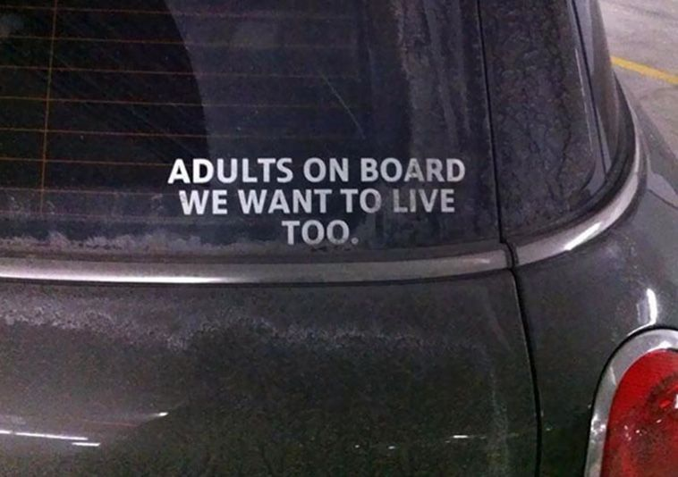 20 Bumper Stickers That Are Actually Funny ...